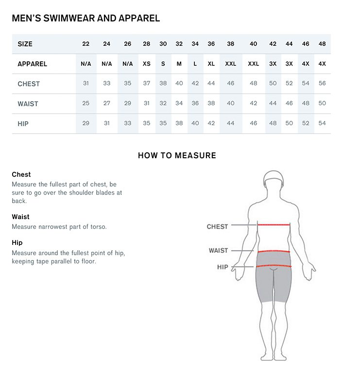 Nike Swimsuit Sizing Compared To Speedo