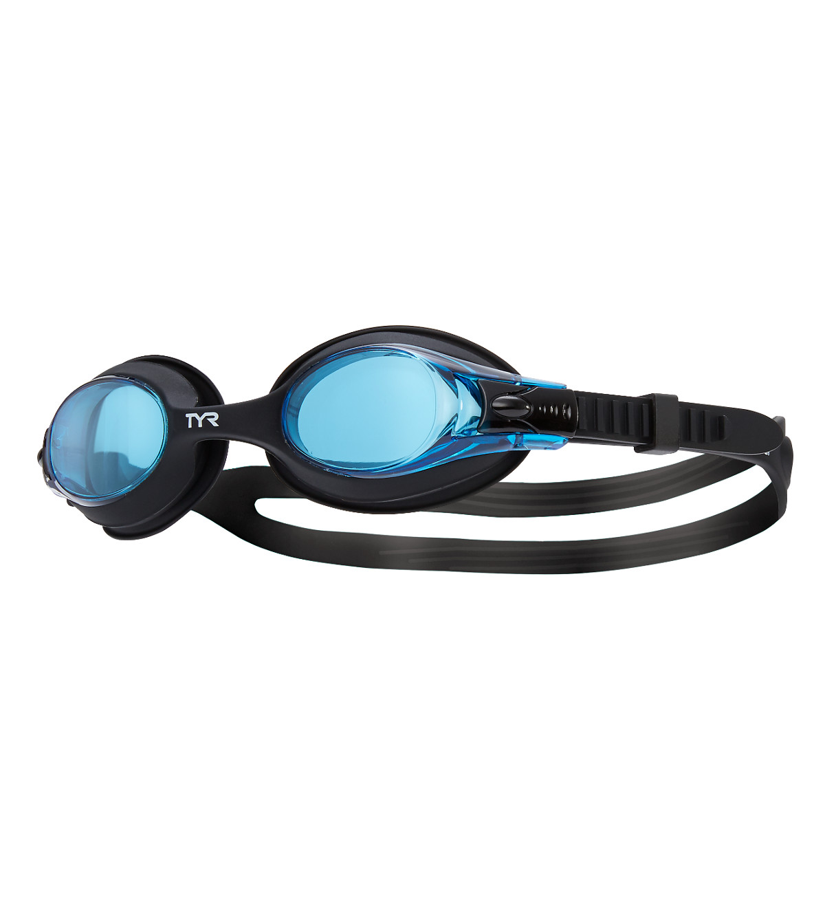 Black//Blue LGSW-011 TYR Youth Swimple Goggles