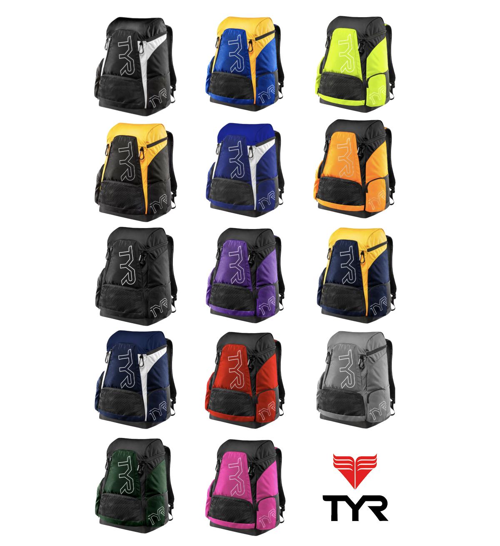 Navy//White TYR Alliance 45L Backpack
