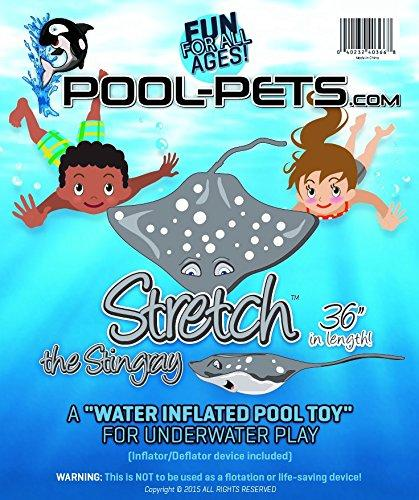 """Water Inflated Pool Toys Pool Pets Opie The Orca 36/"""" Length"""